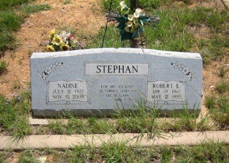 STEPHAN, ROBERT E. - Eastland County, Texas | ROBERT E. STEPHAN - Texas Gravestone Photos