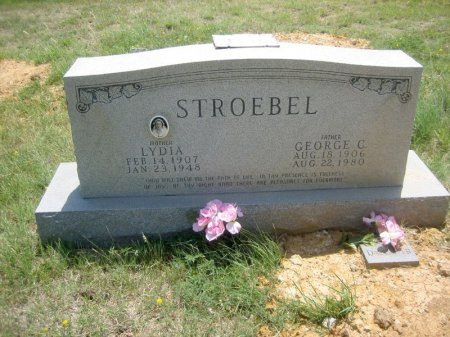 STROEBEL, GEORGE C. - Eastland County, Texas | GEORGE C. STROEBEL - Texas Gravestone Photos