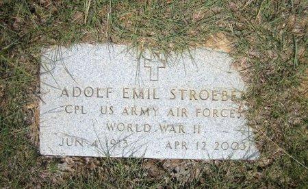 STROEBEL (VETERAN WWII), ADOLF EMIL - Eastland County, Texas   ADOLF EMIL STROEBEL (VETERAN WWII) - Texas Gravestone Photos