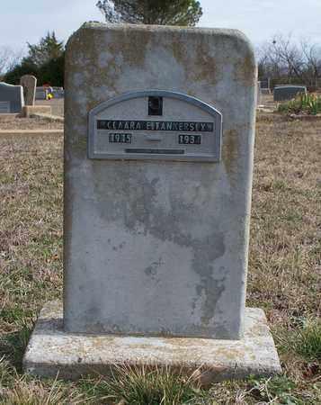 TANKERSLY, CLARA E - Eastland County, Texas | CLARA E TANKERSLY - Texas Gravestone Photos