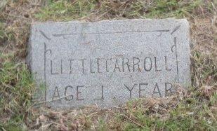 UNKNOWN, CARROLL - Eastland County, Texas | CARROLL UNKNOWN - Texas Gravestone Photos
