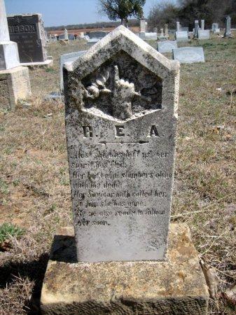 UNKNOWN, R. E. A. - Eastland County, Texas | R. E. A. UNKNOWN - Texas Gravestone Photos