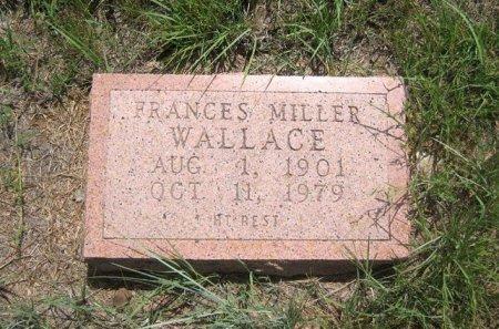 MILLER WALLACE, FRANCES - Eastland County, Texas | FRANCES MILLER WALLACE - Texas Gravestone Photos
