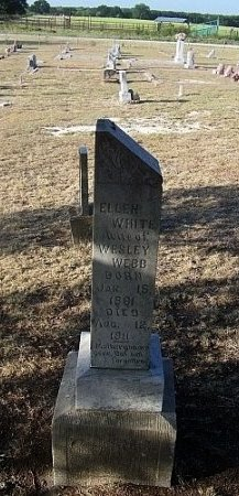 WHITE WEBB, ELLEN - Eastland County, Texas | ELLEN WHITE WEBB - Texas Gravestone Photos