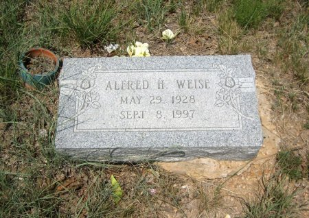 WEISE, ALFRED H. - Eastland County, Texas | ALFRED H. WEISE - Texas Gravestone Photos