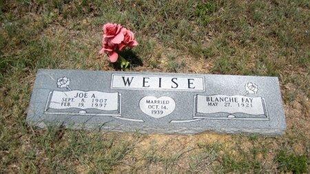 WEISE, BLANCHE FAY - Eastland County, Texas   BLANCHE FAY WEISE - Texas Gravestone Photos