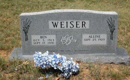 WEISER, BEN - Eastland County, Texas | BEN WEISER - Texas Gravestone Photos