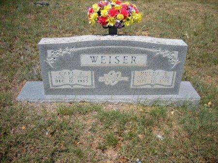 WEISER, CARL A. - Eastland County, Texas | CARL A. WEISER - Texas Gravestone Photos