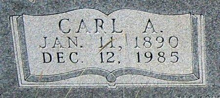 WEISER, CARL A. (CLOSEUP) - Eastland County, Texas | CARL A. (CLOSEUP) WEISER - Texas Gravestone Photos