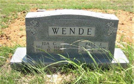 WENDE, IDA - Eastland County, Texas | IDA WENDE - Texas Gravestone Photos