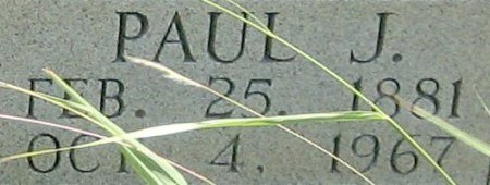 WENDE, PAUL J. (CLOSEUP) - Eastland County, Texas | PAUL J. (CLOSEUP) WENDE - Texas Gravestone Photos