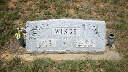 WINGE, IRMA HELEN - Eastland County, Texas | IRMA HELEN WINGE - Texas Gravestone Photos