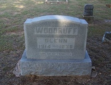 WOODRUFF, GLENN - Eastland County, Texas | GLENN WOODRUFF - Texas Gravestone Photos