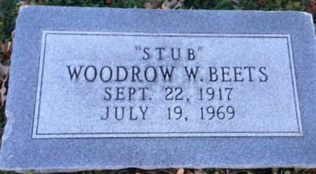 "BEETS, WOODROW W. ""STUB"" - Ellis County, Texas | WOODROW W. ""STUB"" BEETS - Texas Gravestone Photos"