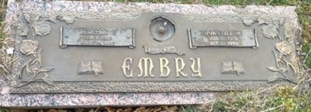 EMBRY, DOROTHY - Ellis County, Texas | DOROTHY EMBRY - Texas Gravestone Photos