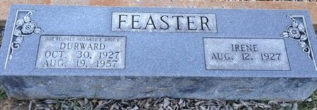 FEASTER, DURWARD - Ellis County, Texas | DURWARD FEASTER - Texas Gravestone Photos