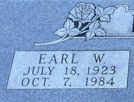 FEASTER, EARL W (CLOSE UP) - Ellis County, Texas | EARL W (CLOSE UP) FEASTER - Texas Gravestone Photos