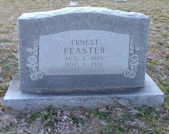 FEASTER, ERNEST - Ellis County, Texas   ERNEST FEASTER - Texas Gravestone Photos