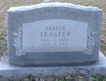 FEASTER, ERNEST - Ellis County, Texas | ERNEST FEASTER - Texas Gravestone Photos