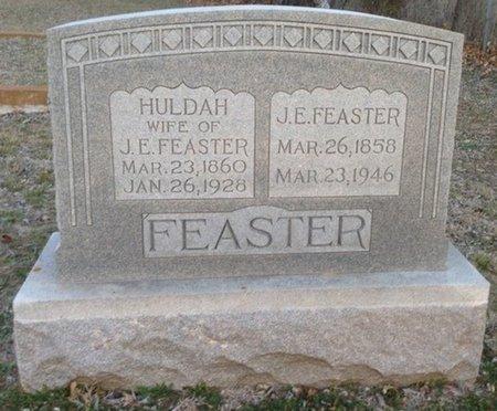 FEASTER, JOHN ELBERT - Ellis County, Texas | JOHN ELBERT FEASTER - Texas Gravestone Photos