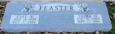 FEASTER, EARL W - Ellis County, Texas | EARL W FEASTER - Texas Gravestone Photos