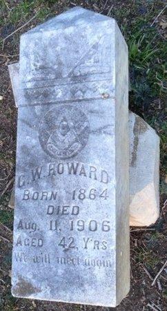 HOWARD, GEORGE W - Ellis County, Texas | GEORGE W HOWARD - Texas Gravestone Photos