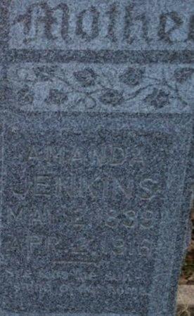 WAKELAND JENKINS, AMANDA A (CLOSE UP) - Ellis County, Texas | AMANDA A (CLOSE UP) WAKELAND JENKINS - Texas Gravestone Photos