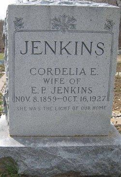 SORRELLS JENKINS, CORDELIA ELIZABETH - Ellis County, Texas   CORDELIA ELIZABETH SORRELLS JENKINS - Texas Gravestone Photos