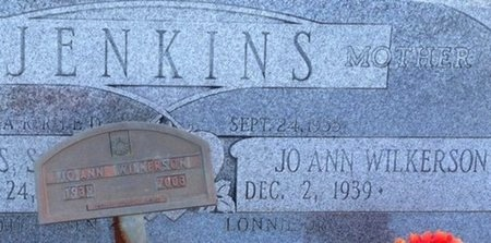 WILKERSON JENKINS, JOANN (CLOSE UP) - Ellis County, Texas   JOANN (CLOSE UP) WILKERSON JENKINS - Texas Gravestone Photos
