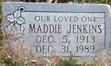 JENKINS, MADDIE - Ellis County, Texas | MADDIE JENKINS - Texas Gravestone Photos