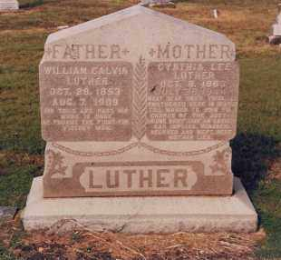 CARTER LUTHER, CYNTHIA LEE - Ellis County, Texas | CYNTHIA LEE CARTER LUTHER - Texas Gravestone Photos
