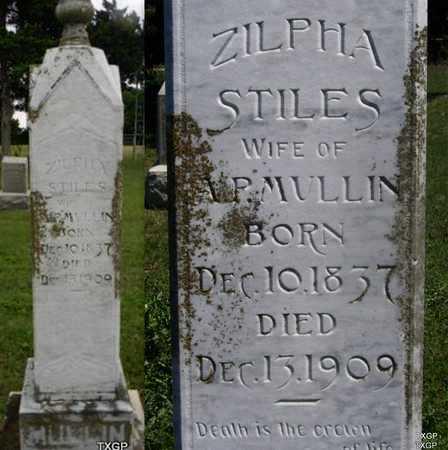 STILES, ZILPHA - Ellis County, Texas | ZILPHA STILES - Texas Gravestone Photos