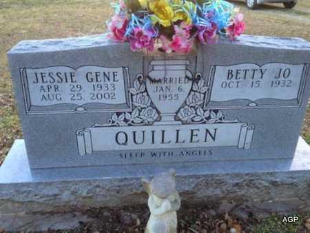 QUILLEN, JESSIE GENE - Ellis County, Texas | JESSIE GENE QUILLEN - Texas Gravestone Photos