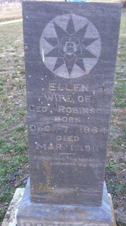ROBINSON, ELLEN - Ellis County, Texas | ELLEN ROBINSON - Texas Gravestone Photos