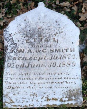 SMITH, ETTA M. - Ellis County, Texas | ETTA M. SMITH - Texas Gravestone Photos