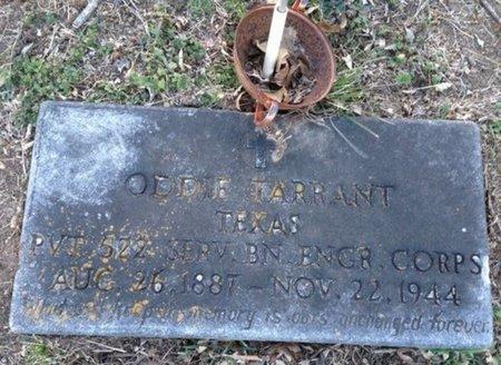 TARRANT (VETERAN WWI), ODDIE - Ellis County, Texas | ODDIE TARRANT (VETERAN WWI) - Texas Gravestone Photos