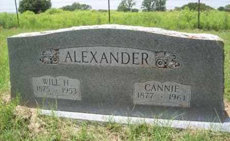 HAMRICK ALEXANDER, CANNIE ARRINGTON - Erath County, Texas | CANNIE ARRINGTON HAMRICK ALEXANDER - Texas Gravestone Photos