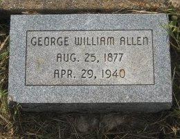 ALLEN, GEORGE - Erath County, Texas | GEORGE ALLEN - Texas Gravestone Photos