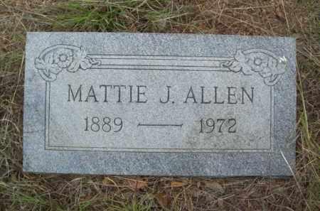 ALLEN, MATTIE JANE - Erath County, Texas   MATTIE JANE ALLEN - Texas Gravestone Photos