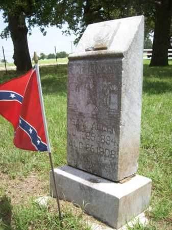 ALLEN, ISAAC - Erath County, Texas | ISAAC ALLEN - Texas Gravestone Photos