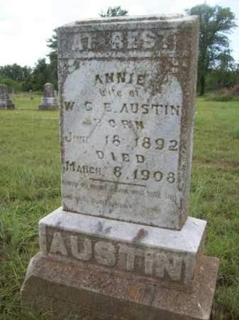 CHADICK AUSTIN, ANNIE BLANCHE - Erath County, Texas | ANNIE BLANCHE CHADICK AUSTIN - Texas Gravestone Photos