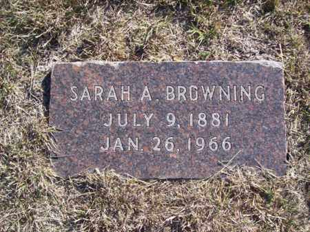TWILLY BROWNING, SARAH - Erath County, Texas | SARAH TWILLY BROWNING - Texas Gravestone Photos