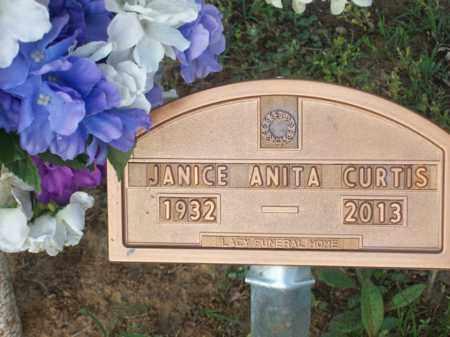 CURTIS, JANICE ANITA - Erath County, Texas   JANICE ANITA CURTIS - Texas Gravestone Photos