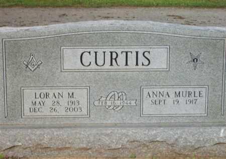 CURTIS, ANNA MURLE - Erath County, Texas | ANNA MURLE CURTIS - Texas Gravestone Photos
