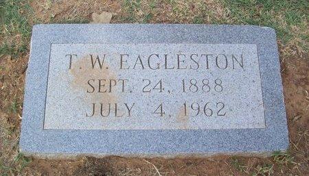 EAGLESTON (VETERAN  2 WARS), TILSON WHEELER - Erath County, Texas | TILSON WHEELER EAGLESTON (VETERAN  2 WARS) - Texas Gravestone Photos