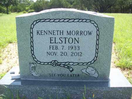 ELSTON, KENNETH MORROW - Erath County, Texas | KENNETH MORROW ELSTON - Texas Gravestone Photos