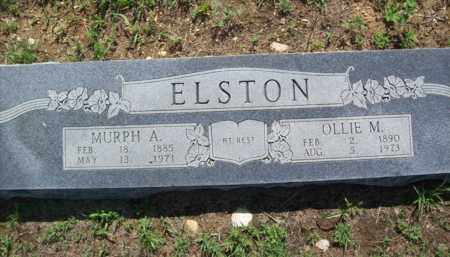 ELSTON, MURPH ARCHIBALD - Erath County, Texas | MURPH ARCHIBALD ELSTON - Texas Gravestone Photos