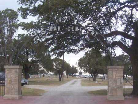 *ENTRANCE,  - Erath County, Texas |  *ENTRANCE - Texas Gravestone Photos