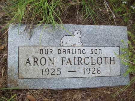 FAIRCLOTH, ARON - Erath County, Texas   ARON FAIRCLOTH - Texas Gravestone Photos