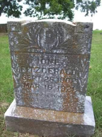FITZGERALD, IONE - Erath County, Texas | IONE FITZGERALD - Texas Gravestone Photos